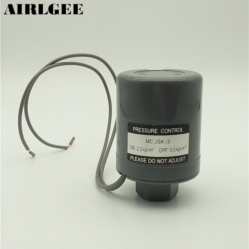 2.2kg/cm2 ON 3.0kg/cm2 OFF AC 220V 3KW Water Pump Automatic Pressure Switch Controller