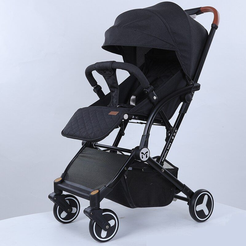 2018 neue leichte Falten baby kinderwagen können liegen kann sitzen kann auf die flugzeug EMS freies senden zu indonesien warenkorb wei
