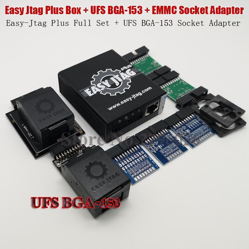 2019 original Einfach Jtag Plus EMMC Buchse + Einfach-Jtag Plus UFS BGA-153 Buchse Adapter
