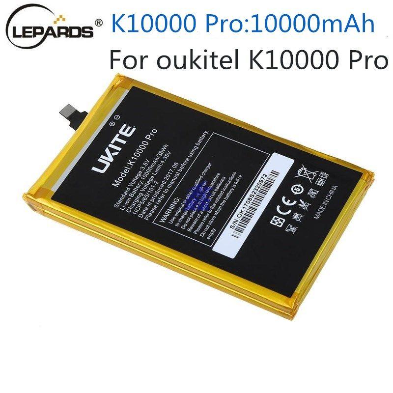 10000 mAh k10000pro batterie 100% Original für Oukitel k10000 pro Batterie Ersatzakku Für Oukitel K10000 Pro handy