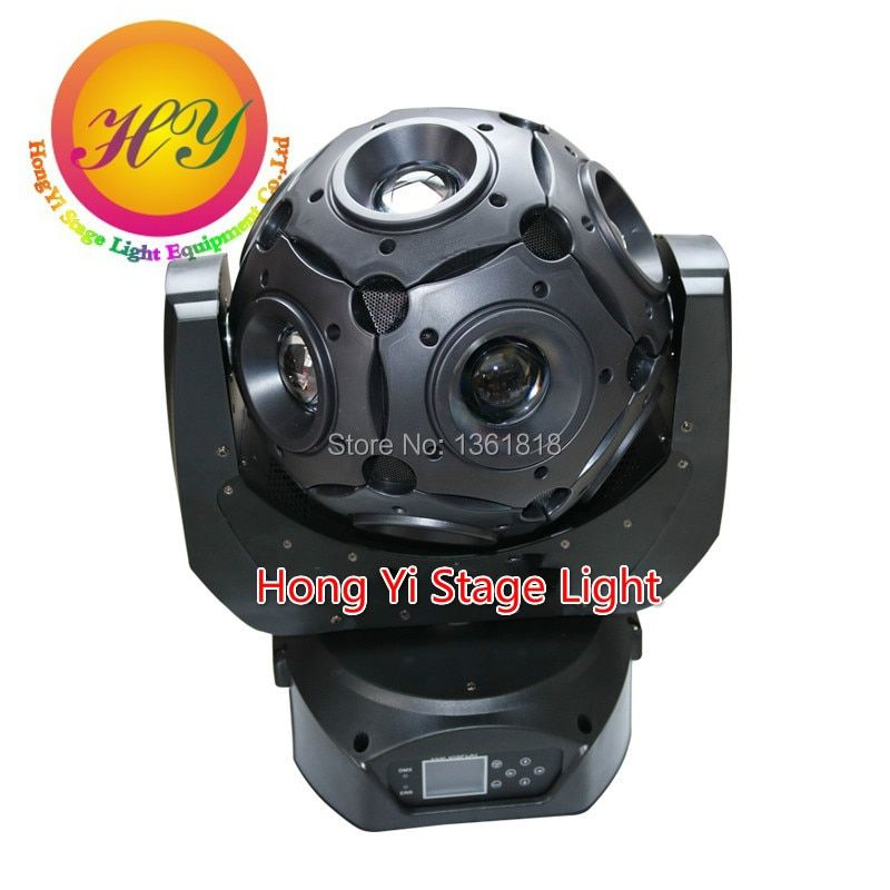 Newest 12x20W led moving head RGBW 4in1 LED Football Moving Head beam spot stage Light Effect DJ Disco Nightclub Party Light