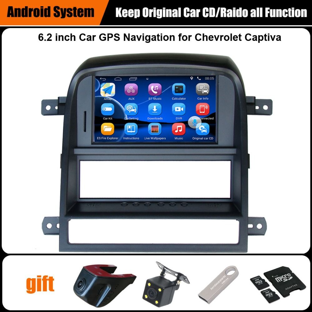 Upgraded Original Car Radio Player Suit to Chevrolet Captiva 2008-2011 GPS Navigation Car Video Player WiFi Bluetooth