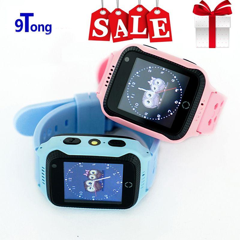 Nouveauté 1.44 'écran tactile enfants GPS montre avec caméra éclairage montre intelligente téléphone SOS appel GPS localisation Finder pour enfant c0