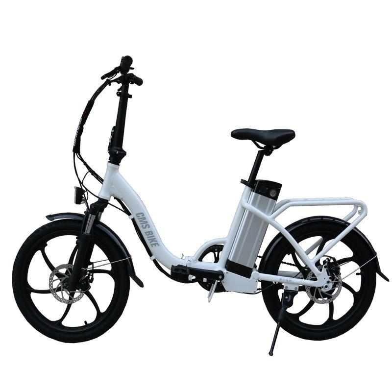 20-zoll aluminium legierung klapp elektrische fahrrad mädchen stadt lithium-batterie elektrische bicycle36V350W motor max-geschwindigkeit 25 km/std ebike