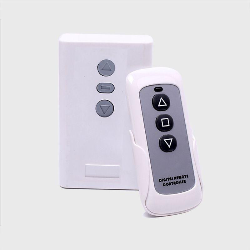 Nouvelle mise à jour version Sans Fil À Distance Contrôleur et Contrôleur de Réception pour Électrique Projecteur Écrans pantalla proyector