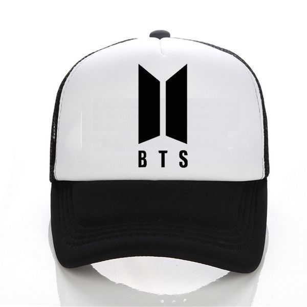 Mens Snapback Hats BTS print Fashion cap Hats Adjustable Baseball Cap Bulletproof Young Age Group SUGA Airport Hat