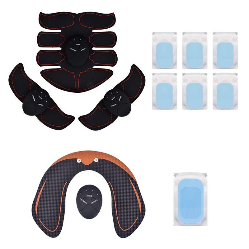 Smart EMS Hanches Formateur Électrique Stimulateur Musculaire Sans Fil Fesses Abdominale ABS Stimulateur de Fitness À Domicile Minceur Masseur