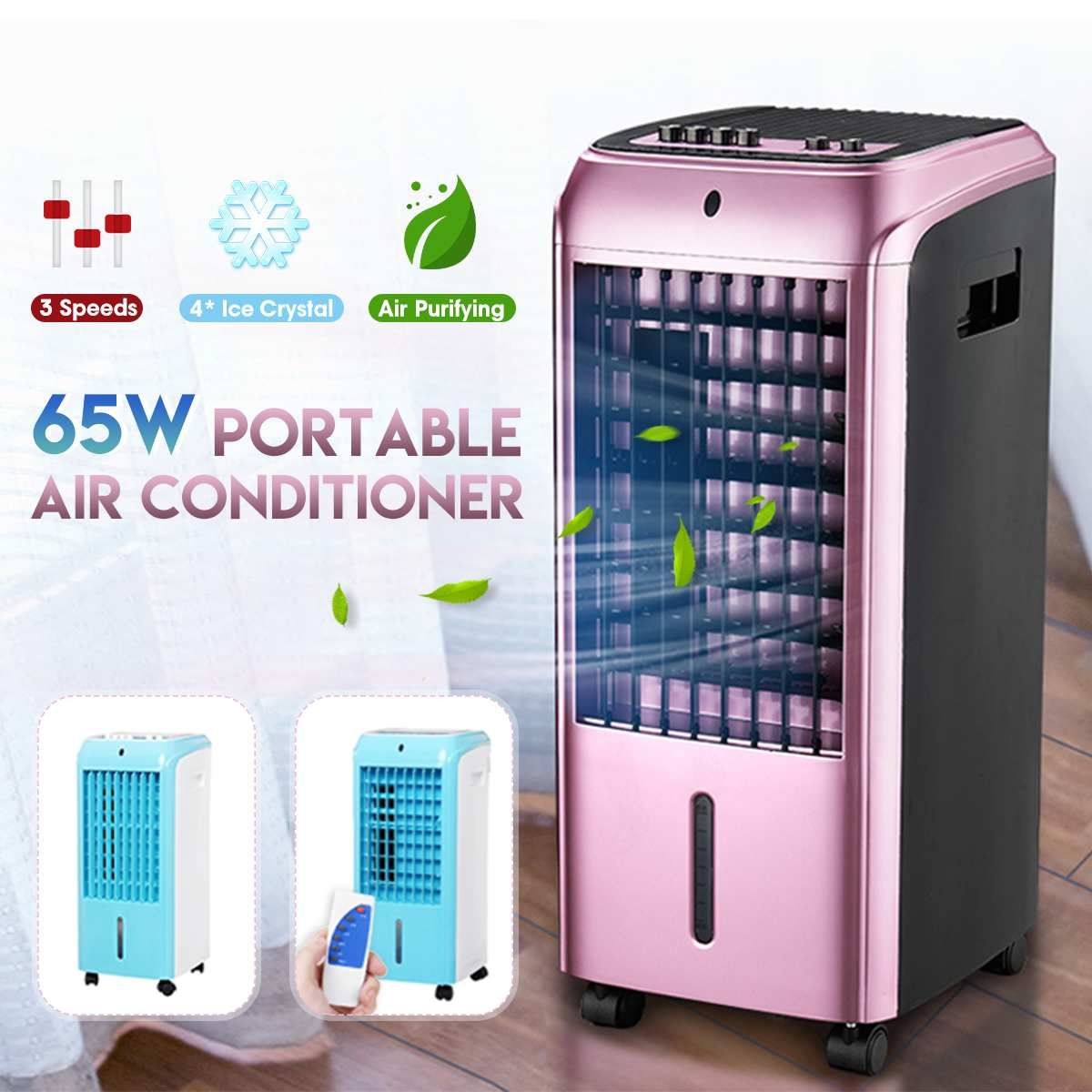 New Arrival 2019 65W Portable Air Conditioner 220V Conditioning Natural Wind Air Cooling Cooler Fan Household For Living Room