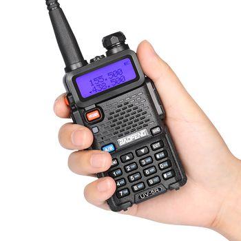 4 шт. UV-5R портативная рация Dual Band 136-174 мГц/400-520 мГц УКВ радиолюбителей мощность 1800 мАч батареи двухстороннее радио
