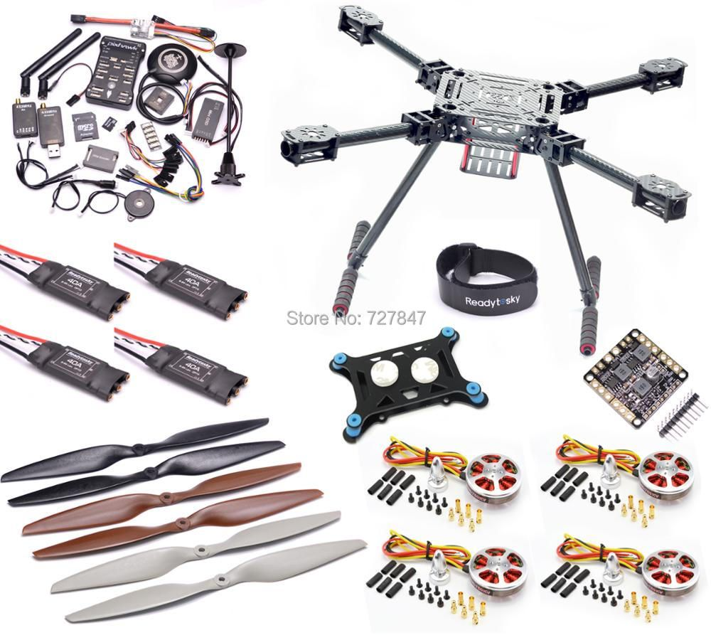 Upgrade F550 ZD550 550mm Carbon fiber Quadcopter Pixhawk PX4 PIX 2.4.8 Flight Control set 5010 750KV Motor 40A OPTPO ESC
