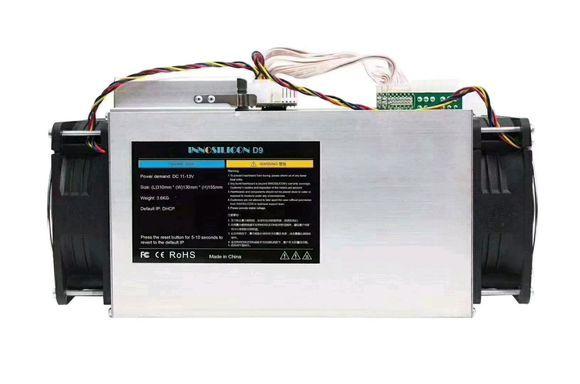 Neue DECRED Miner Innosilicon d9 mit + NETZTEIL SiaMaster Neueste Miner Innosilicon D9 Pow Algorithmus Blake256 2.1TH/s 900 Watt für DECRED