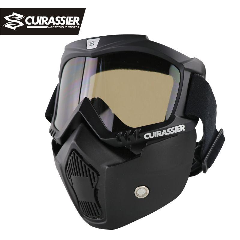 Cuirassier CG01 lunettes de protection vtt moto motocross lunettes hors route vélo de course lunettes oculos MX entraînement de course