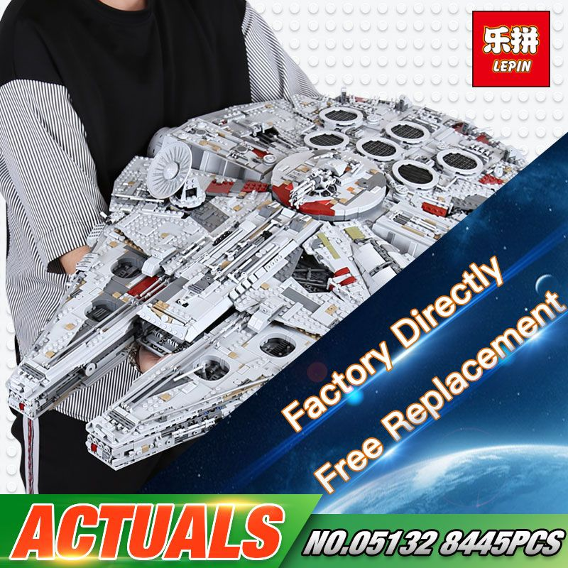 In Stock DHL shipping Lepin 05132 8445PCS The New 75192 Ultimate Collector's Destroyer Set Building Blocks Bricks Gift Kid Toys