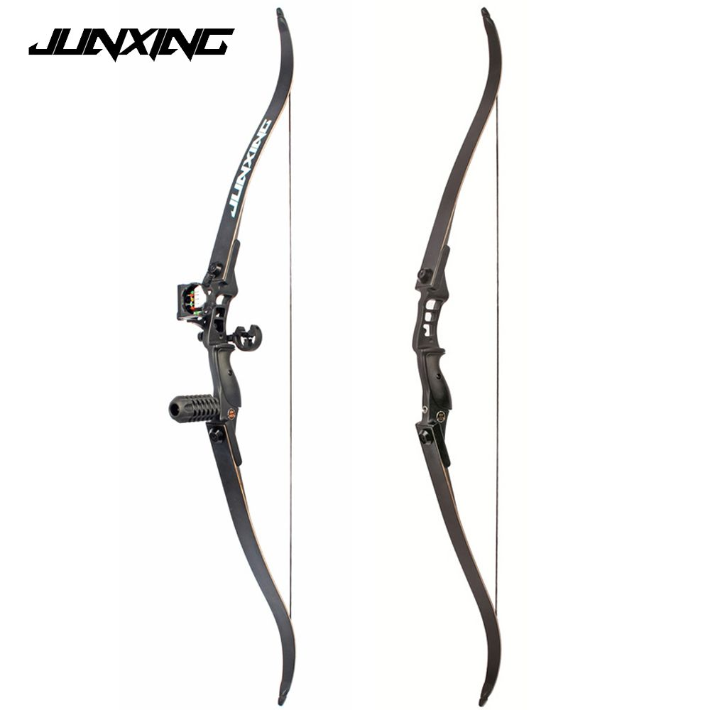 54 inch Recurve Bow 30-50 lbs Riser Length 17 inch American Hunting Bow for Archery Outdoor Sport Hunting Practice