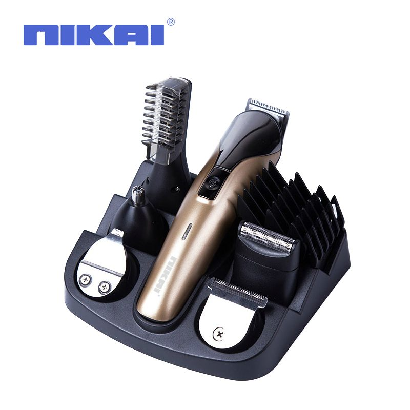 Multifunctional Electric Hair Trimmer Grooming Kit Nose Ear Beard Clipper Mustache Trimmers Shaver Suit Hair Cutter for Barbers