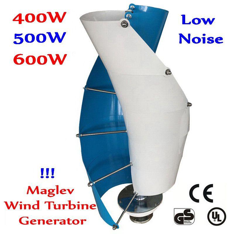 400 watt 500 watt 600 watt 12 v/24 v Wind Generator VAWT Vertikale Welle vertikale achse maglev wind turbine Haus Straße Licht Projekt Verwenden