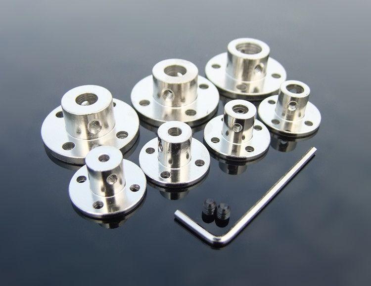 1 stück K843 Stahl Flansch Kupplung Steifigkeit Flansch Platte Metall Hohe Härte Kupplungen Kostenloser Versand Russland