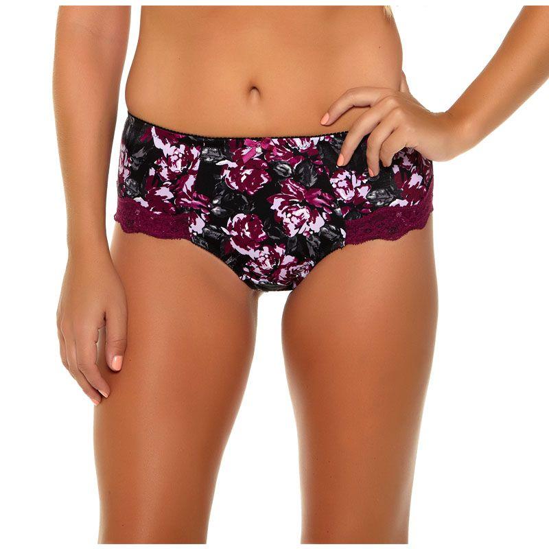 953 Underwear Women Panties Pure Cotton Crotch Modal 6 Colors Floral Print Big Size XL/XXL/XXXL/4XL/5XL/6XL/7XL High-Rise Style