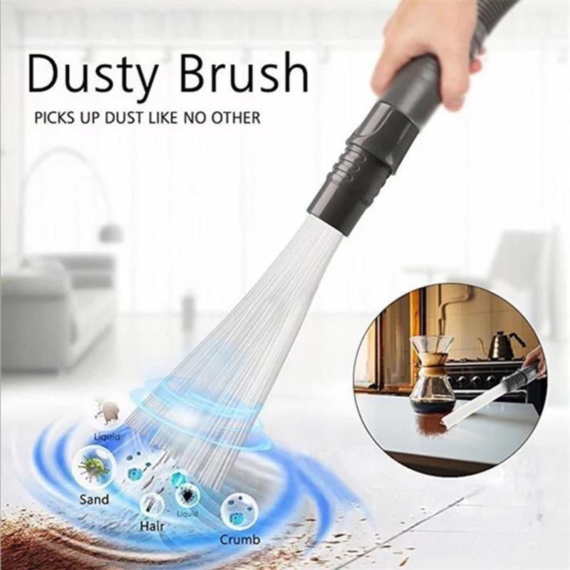 Staub Staubsauger Haushalts Stroh Rohre Staub Pinsel Remover Tragbare Universal Vakuum Befestigung Schmutz Reinigen Werkzeuge