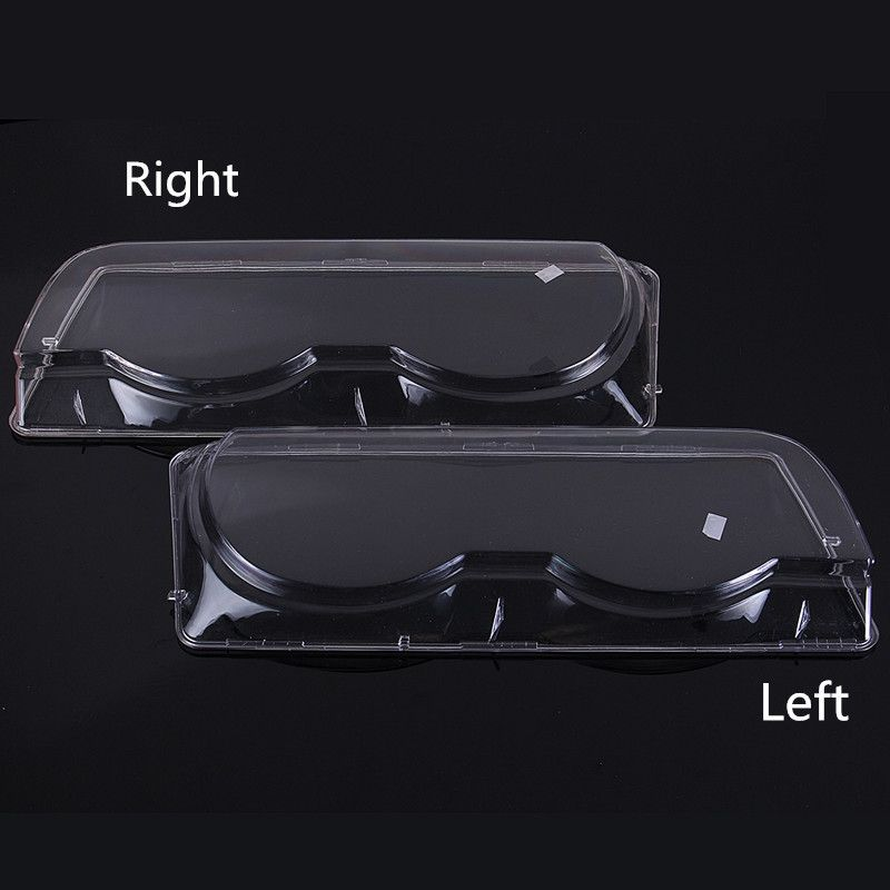 1Pcs Clear Right/Left Car Housing Headlight Lens Shell Cover Lamp Assembly for BMW 7 Series E38 Facelift 1998-2001