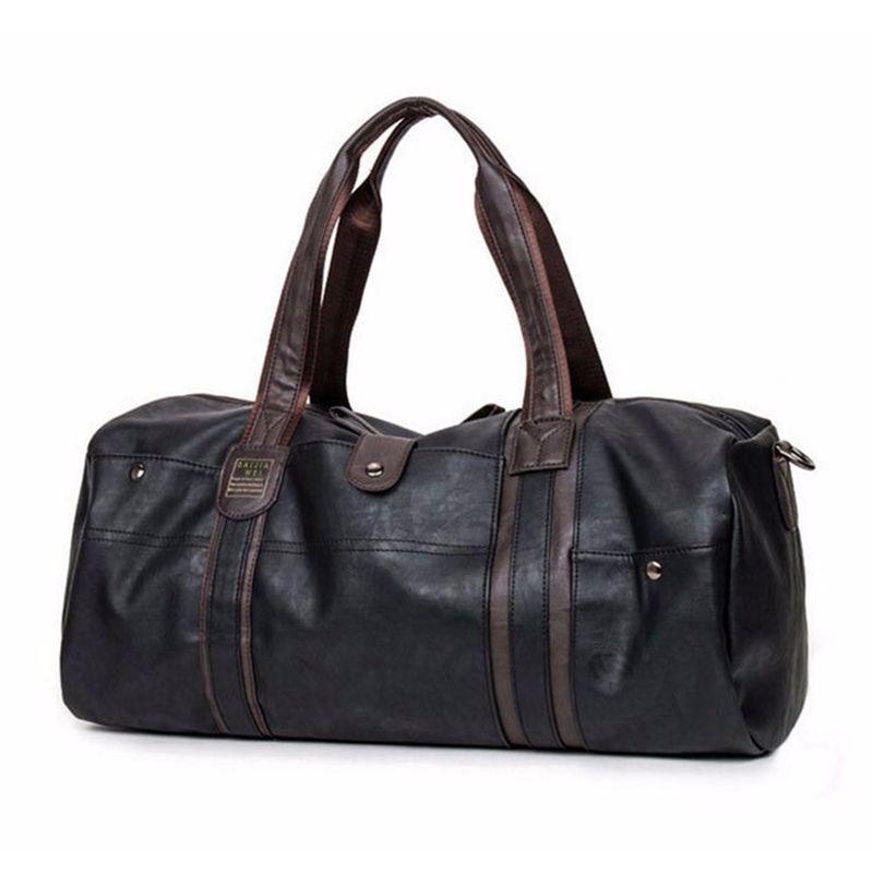 Fashion Travel bag Large capacity Business handbag Bucket shoulder Messenger luggage handbags Casual <font><b>Crossbody</b></font> men's travel bags