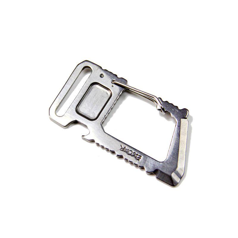 Многофункциональная Утилита карабина EDC Открытый Многофункциональный инструмент whar Biner разливочной коробка нож prybar Скребки Отвёртки