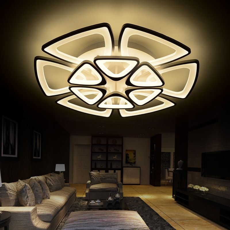 Recommend 50CM 68CM 84CM modern ceiling lights for living room bedroom lamparas de techo modern led light fixture ceiling36W 60W