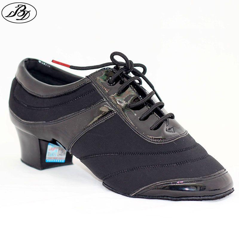Dancesport BD Dance 460 Men Latin Dance Shoe Split Sole Indoor Floor Shoe Ballroom Dance Shoe For Competition and Practice