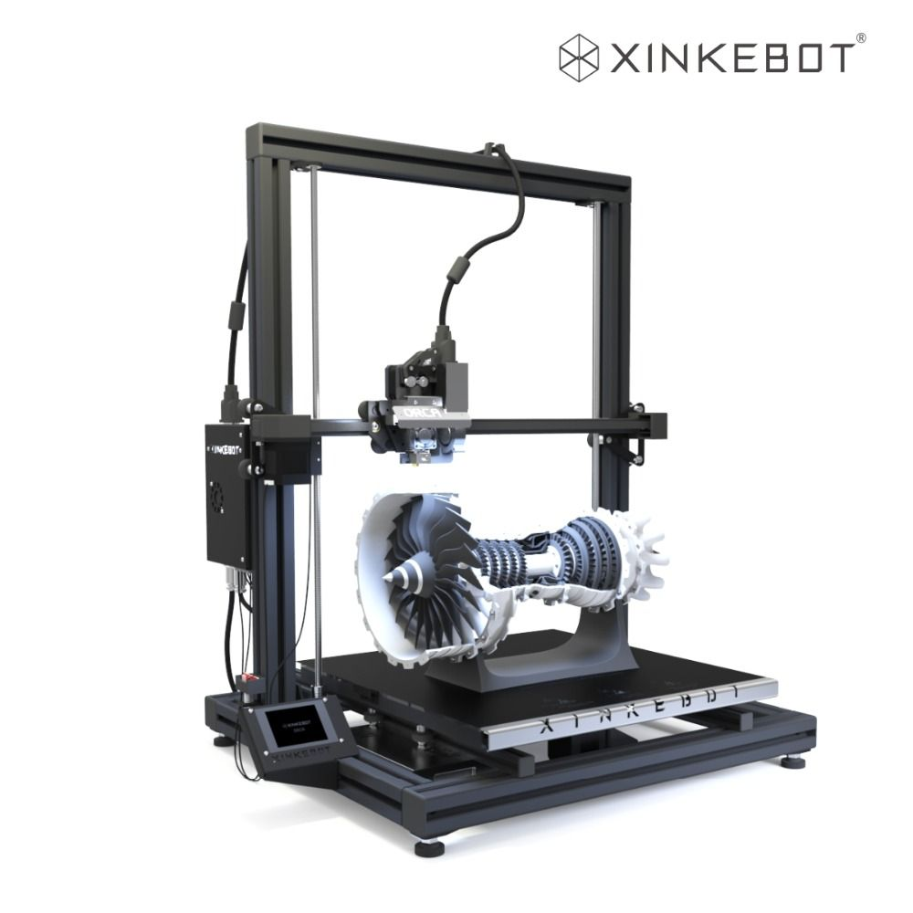 Xinkebot Orca 2 Cygnus Professionelle 3D Drucker Direct Drive Dual Extruder Auto Nivellierung 15.7x15.7x18.9in 3D Drucker Impresora 3D