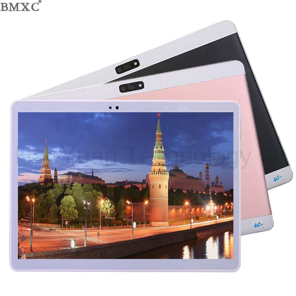 2017 New 10 inch Octa/10 Core 3G 4G Tablet 4GB RAM 64GB ROM 1920*1200 Dual Camera Android 7.0 Tablet 10.1 inch DHL Free Shipping