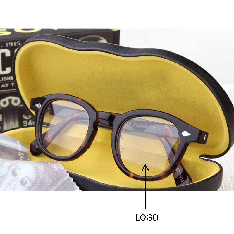 Optical Glasses Frame Men Women Johnny Depp Glasses Computer Transparent Eyeglass Brand design Acetate Vintage Style Q101