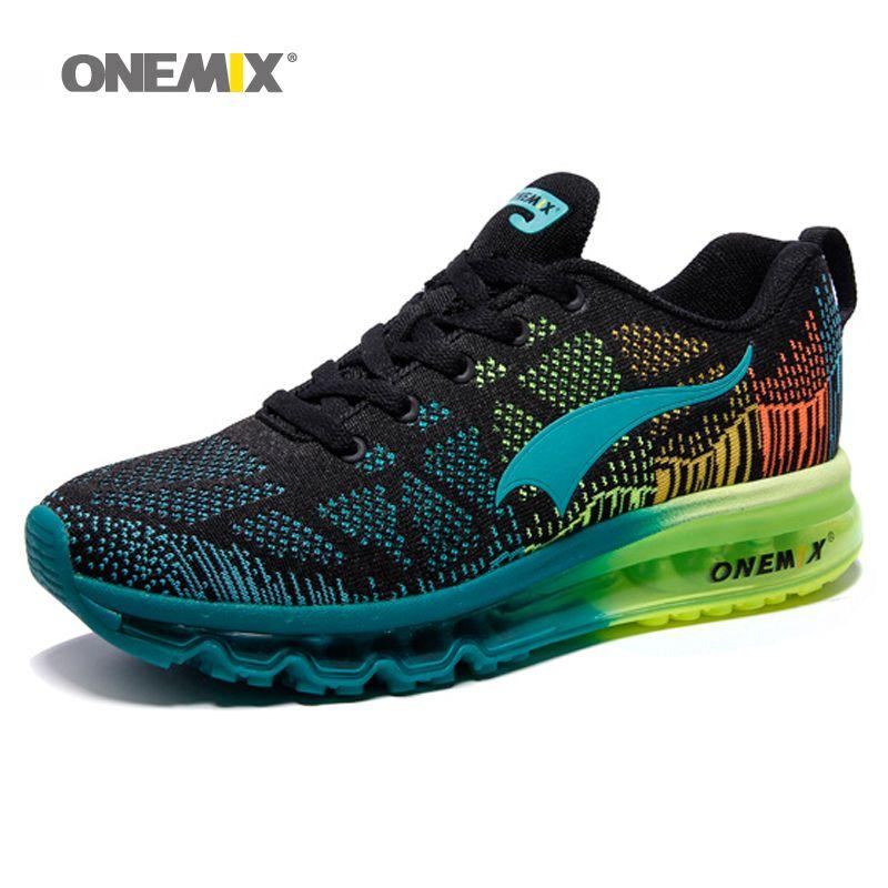 Chaussures de course à Air Onemix pour hommes chaussures lumineuses Super chaussures lumineuses respirantes chaussures de sport air max original gratuit