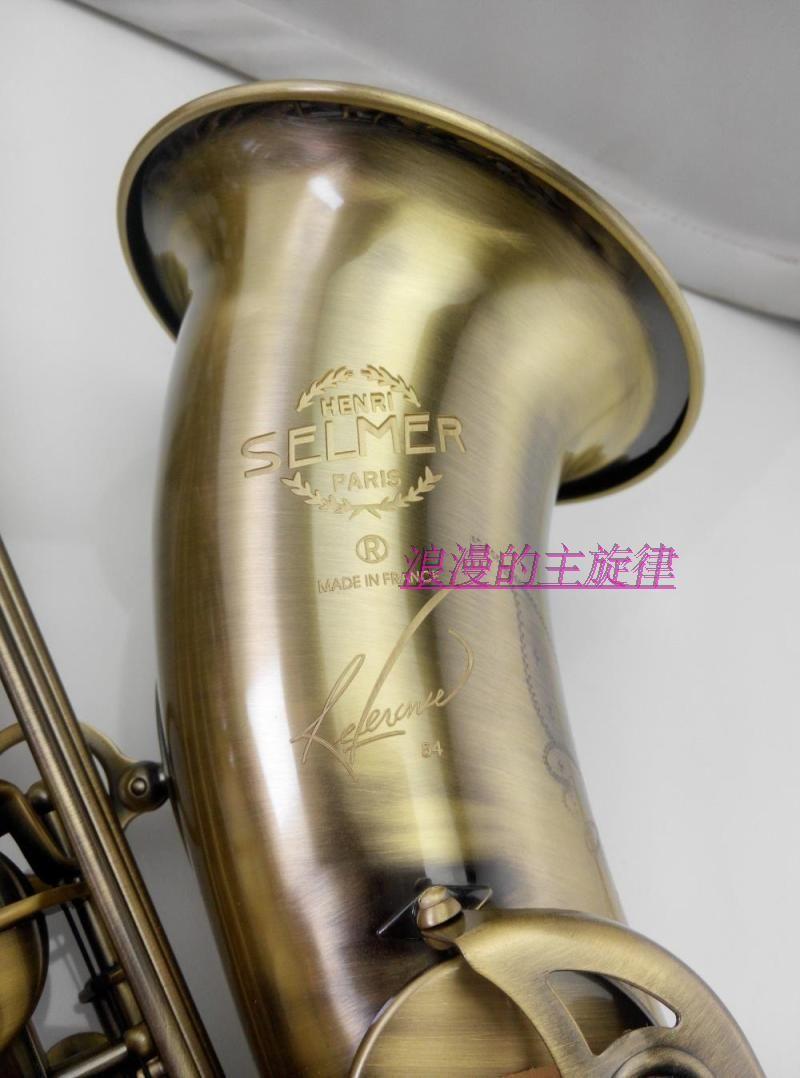 Тенор инструмент Хит продаж Selmer 54 тенор-саксофон/трубы бемоль двойной укрепление типа античная медь Sax