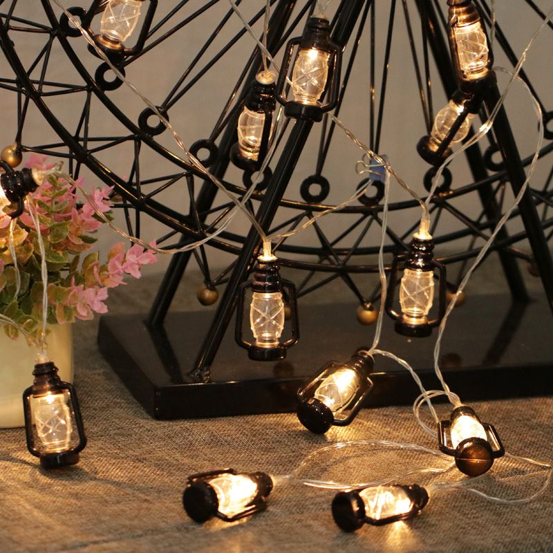 2018 LED Water Oil Lamp String Lights Vintage retro Style Christmas fairy lights Garden Holiday Wedding Decoration Party Lights