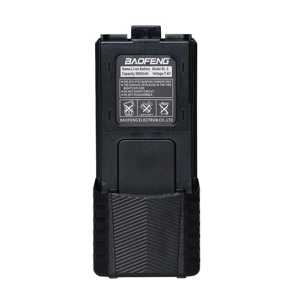 Baofeng 7.4 V 3800 mah UV-5R Batterie Pour Talkie Walkie Radio Pièces D'origine 3800 mah UV 5R baofeng UV-5RE Accessoires Radio
