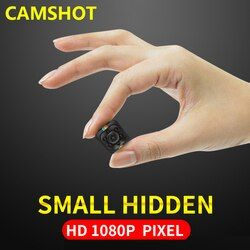 CAMSHOT New style 1080P Small Mini Camera 12MP Infrared Night Vision HD Sport Digital Micro endoscope cameras
