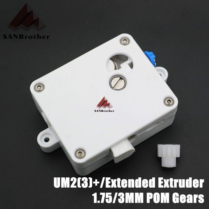 Hot! UM2+ Ultimaker 2+ Extended Extruder Suite Feeder UM2 Extended Extruder Feeder Set Fit For 1.75/3mm Filament System.