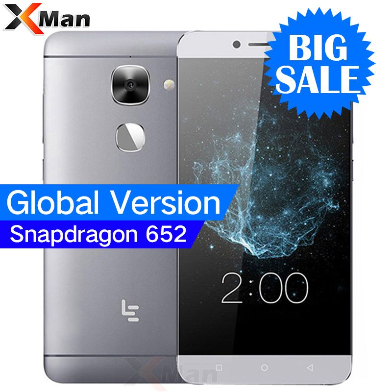 <font><b>Global</b></font> Version LeEco LeTV S3 Le 2 X522 3GB RAM 32GB ROM 5.5 1080P Snapdragon 652 Octa Core Android 6.0 4G LTE Smartphone