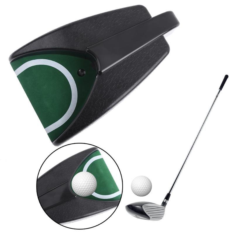 Kunststoff Golf Trainings Putter Digital Golf Ball Auto Return Gerät Automatische Kugel Retriever Putting Cup Golf Zubehör