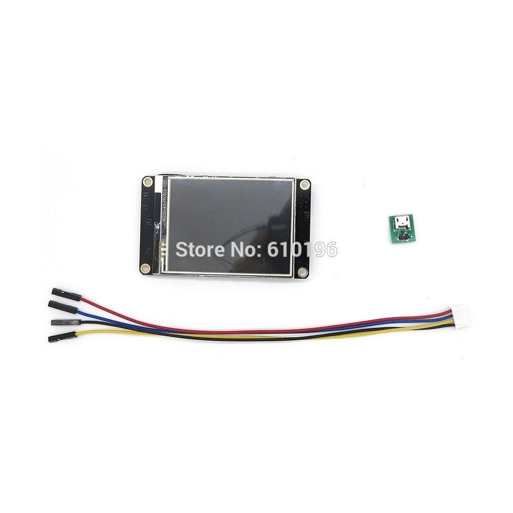 Nextion amélioré 2.8 ''HMI USART UART série LCD Module d'affichage TFT écran tactile pour Arduino Raspberry Pi ESP8266