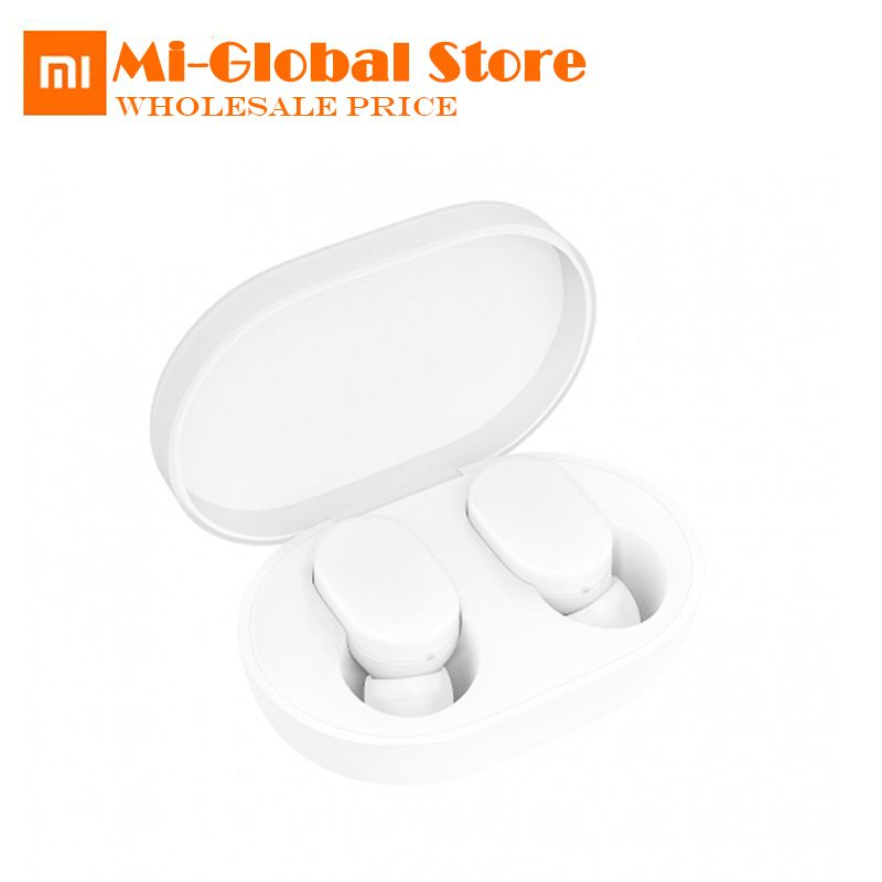 Xiaom MIjia TWS AirDots bluetooth Earphone Youth Version stereo bass BT 5.0 Headphones With Mic Handsfree Earbuds AI Control