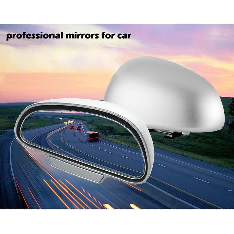1 пара оригинальный 360 регулируемая степень Широкий формат сбоку сзади Зеркала слепое пятно кнопки способ для парковка вспомогательный зер...
