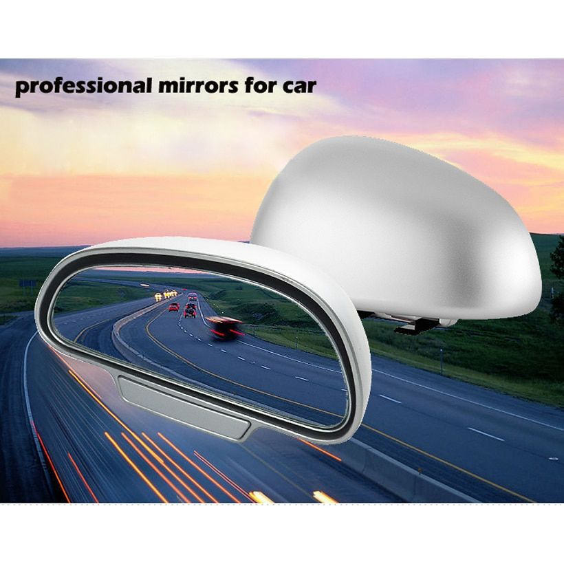 1 pair Original 360 adjustable degree Wide Angle Side Rear Mirrors blind spot Snap way for parking Auxiliary mirror High quality