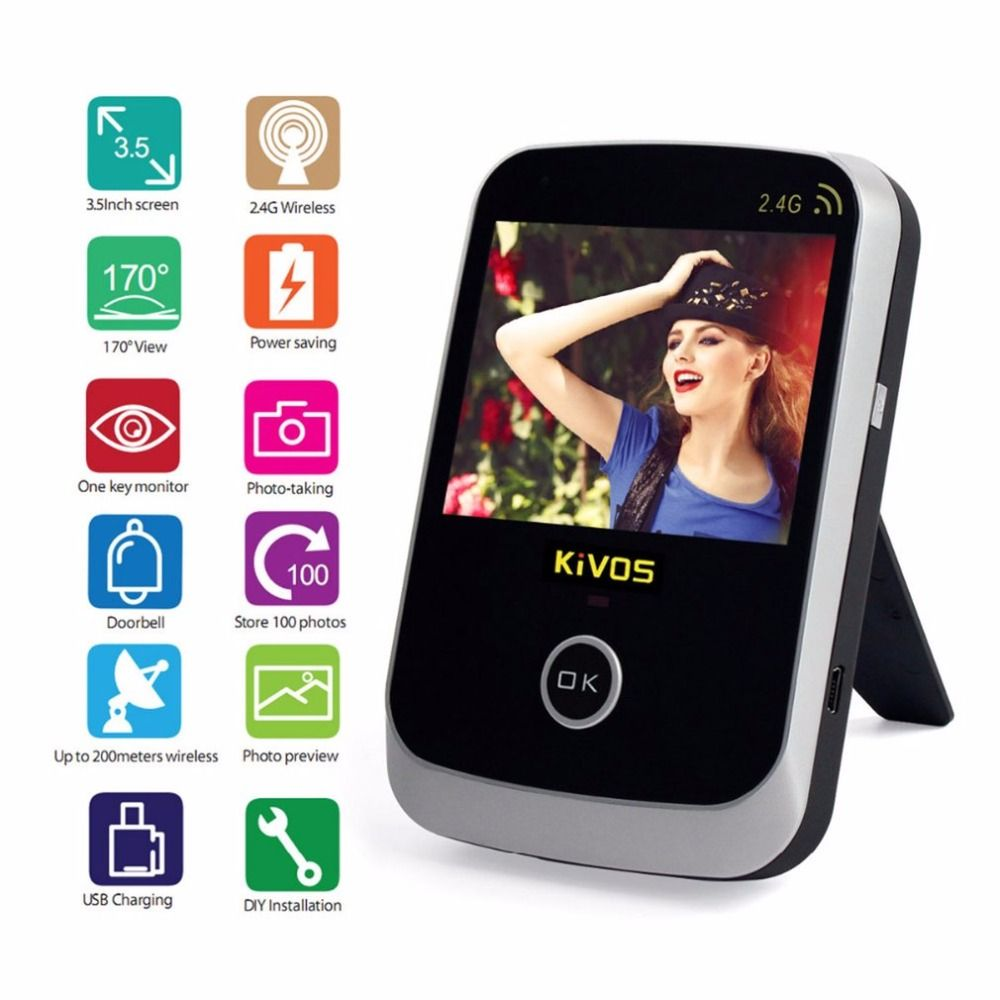 KiVOS Wireless Video Doorbell 3.5