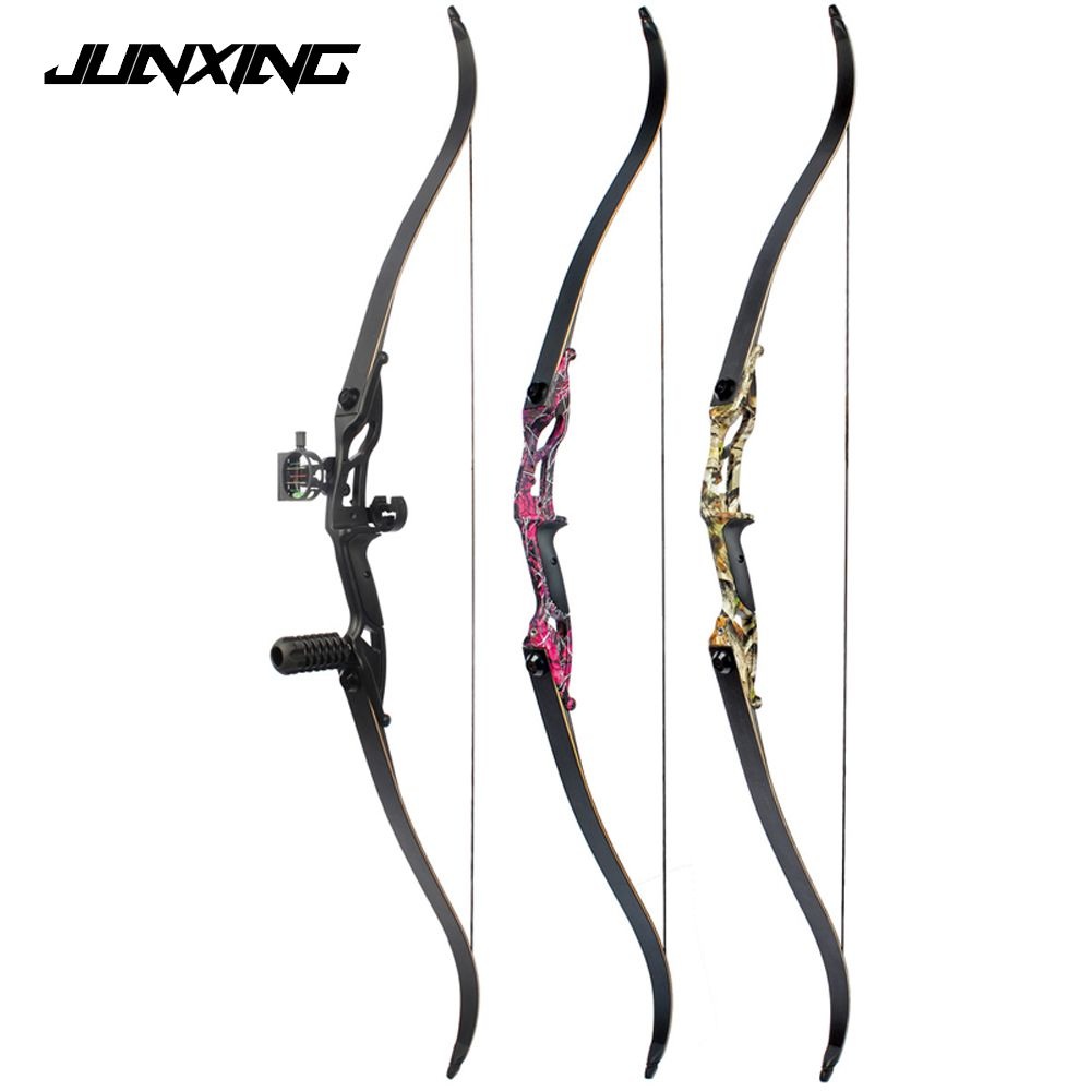 3 Color 30-50lbs Recurve Bow 56