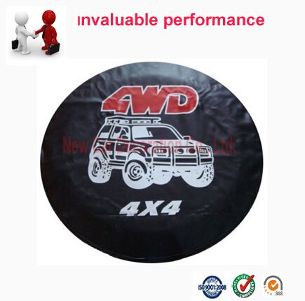 Spare Tire Cover Spare Tire Waterproof Leather pattern Cover 14'' 15'' 16'' 17'' Wheel Accessories Universal