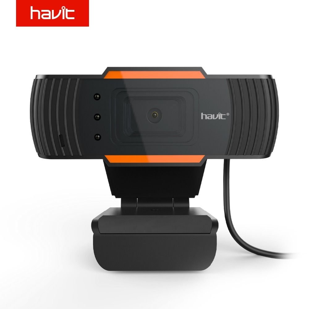 HAVIT High Quality HD USB Webcams Black PC Web Cam Camera for Computer Laptop Desktop Tv Webcam HV-N5086
