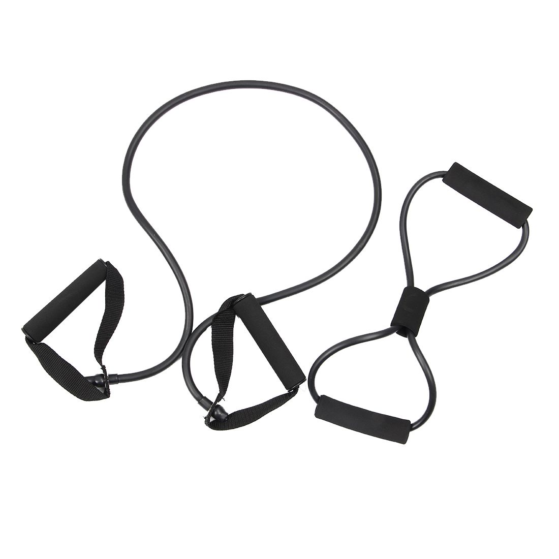 2 pcs Resistance bands chest developer chest expander Exercise Tubes,yoga Tube Training Rope spring exerciser Resistance tube