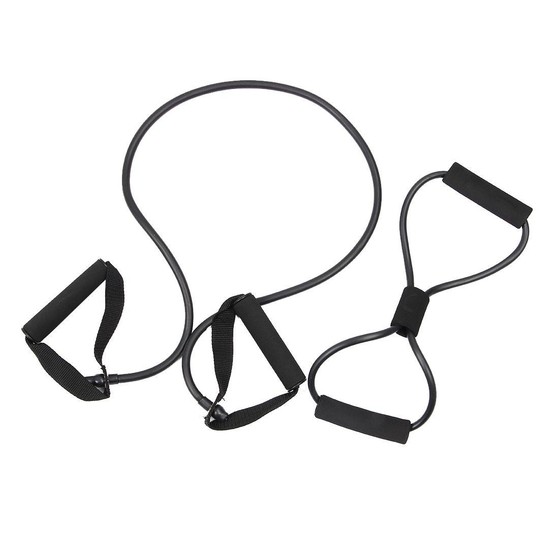 2 stücke Widerstand bands brust entwickler expander Übung Tubes, yoga Rohr Ausbildung Seil frühling exerciser Widerstand rohr
