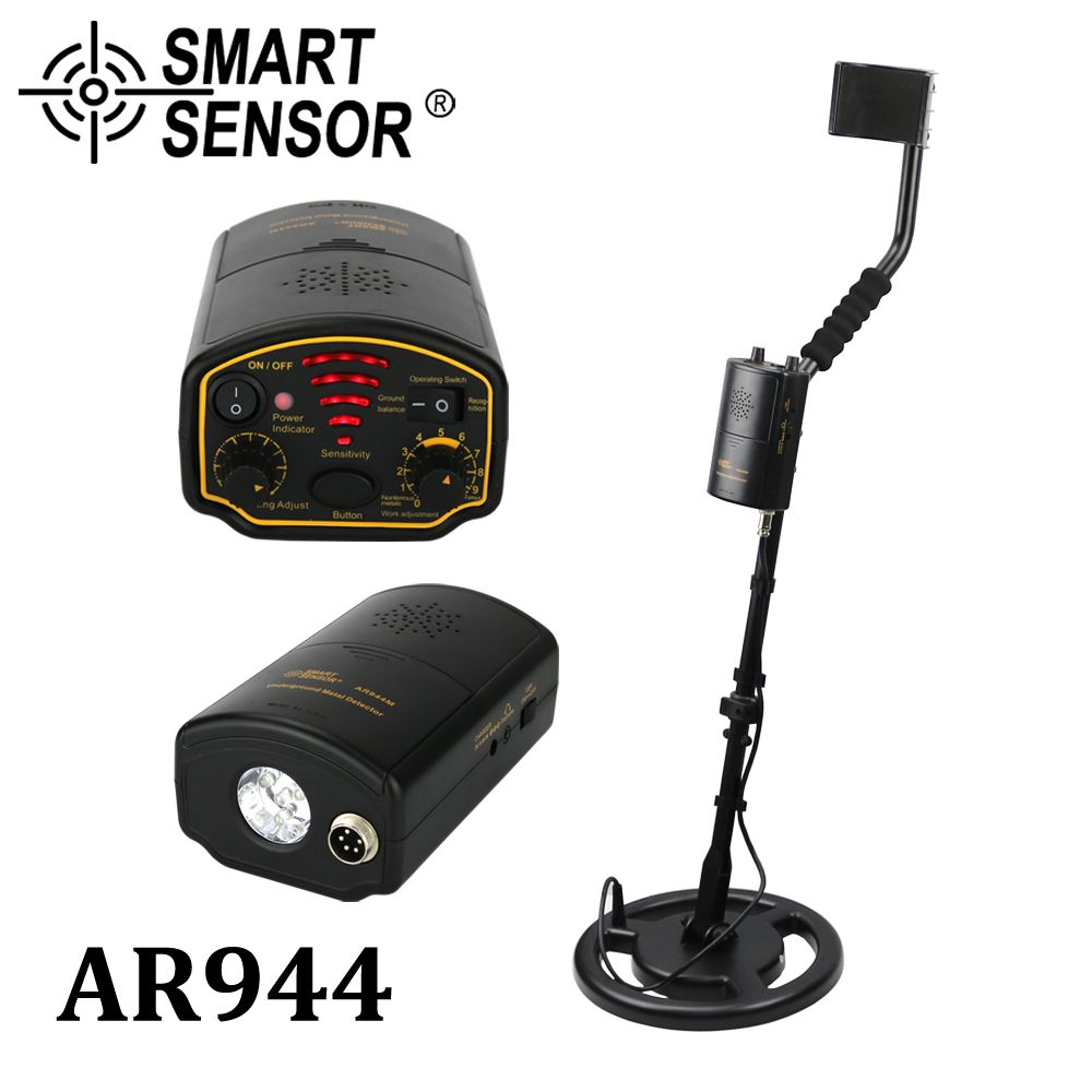 Metal Detector UnderGround depth1.5m/2.5m AR944M Scanner Finder tool 1200mA li-Battery for Gold Digger Treasure Seeking Hunter